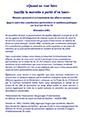 Mémoire concernant le projet de loi 25