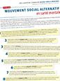 Déclaration commune «Pour un mouvement social alternatif en santé mentale»