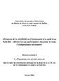Mémoire concernant le projet de loi 38