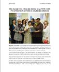Prix Orange pour l'Écho des femmes de la Petite Patrie, Prix Citron pour le syndic du Collège des médecins