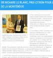 Respect des droits en santé mentale : prix Orange pour le Dr Richard Le Blanc, prix Citron pour le Centre jeunesse de la Montérégie